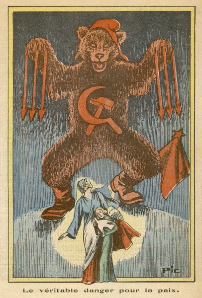 Soviet communism - the real threat to peace (from the point of view of a right-wing Catholic journal)