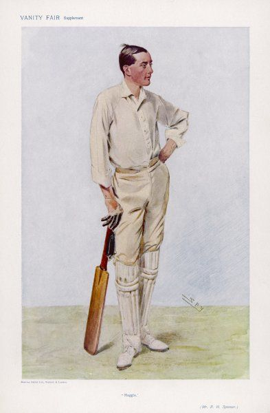 R H 'Reggie' Spooner, English cricketer