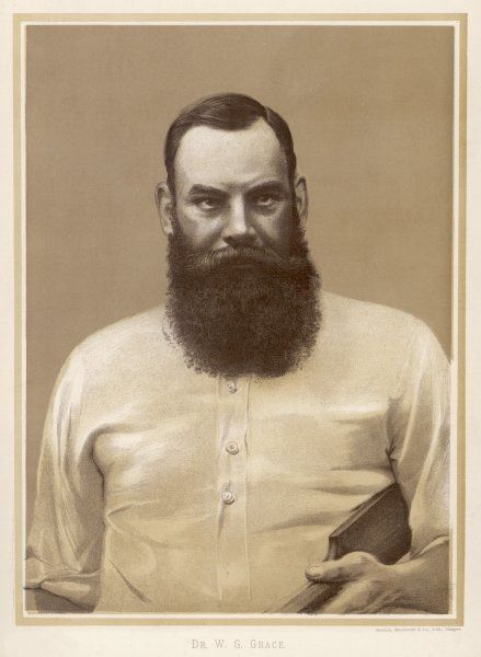 Portrait of W G Grace
