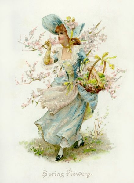 Spring Flowers Date: circa 1898