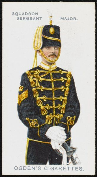 A Squadron Sergeant Major from the 13th Hussars