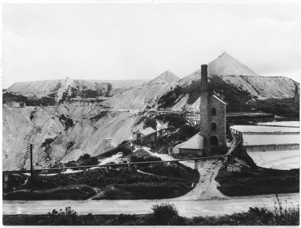 Carthew clay works, St Austell, Cornwall