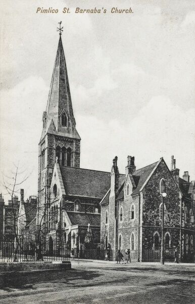 St Barnabus Church, Pimlico, London