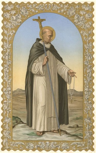 SAINT DOMINIC DE GUZMAN Preacher, founder of the order named after him, and a relentless opponent of heresy, especially that of the Albigensians Date: 1170 - 1221