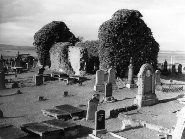 The remains of the church at St. Duthus, Tain, Ross-shire, Scotland. It was here that Saint Duthus was born. Date: 15th century