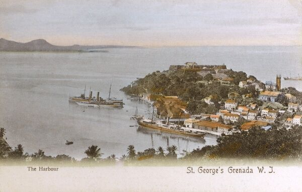 The Harbour, St. George's, Grenada, West Indies Date: 1903