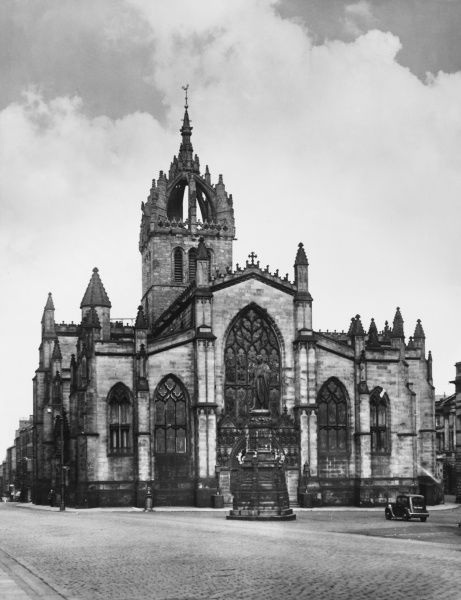 St. Giles' Cathedral, Edinburgh, Scotland, is generally regarded as the mother of Presbyterianism. Officially consecrated by the Bishop of St. Andrews in 1243