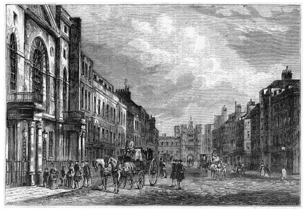 St James's Street in the 18th century