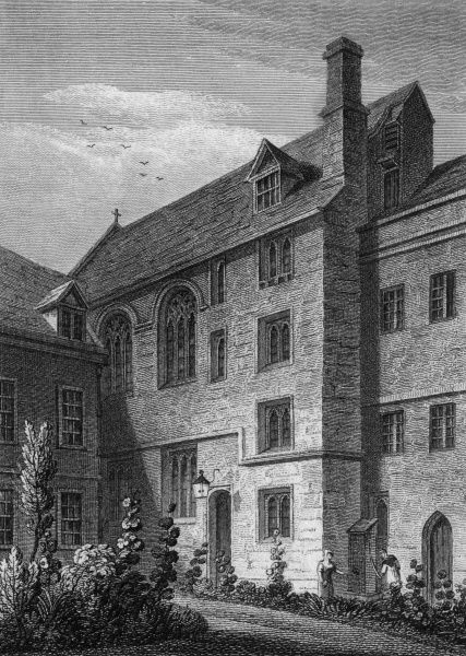 St Mary's Hall, Oxford Date: 1821