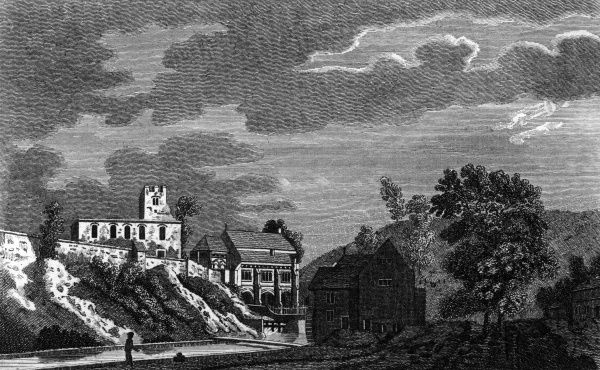 General view of the Well in the 18th century. Date: circa 1770