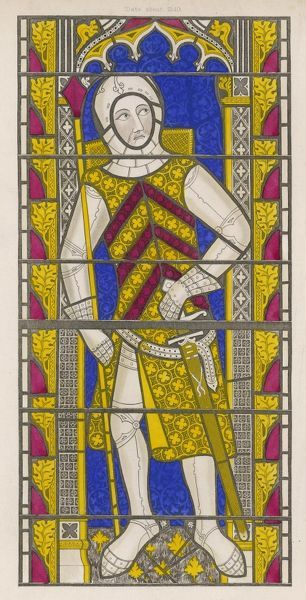 GILBERT DE CLARE 10th Earl of Clare Military, killed at Bannockburn