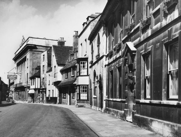 The high street, Stamford, Lincolnshire