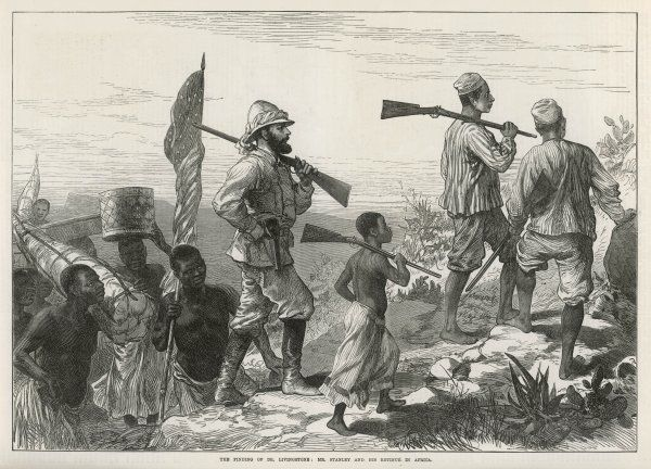 Henry Morton Stanley in search of Livingstone
