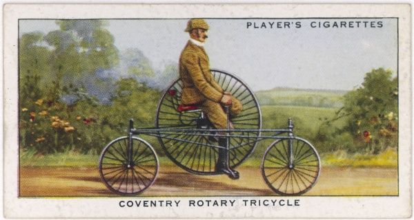 Starley's 'Coventry' rotary tricycle