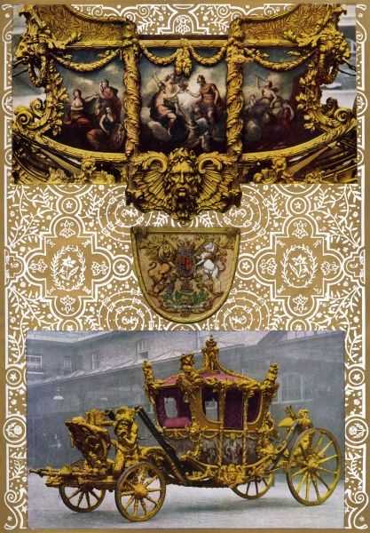 The State Coach of British Sovereigns: Used since the time of George III