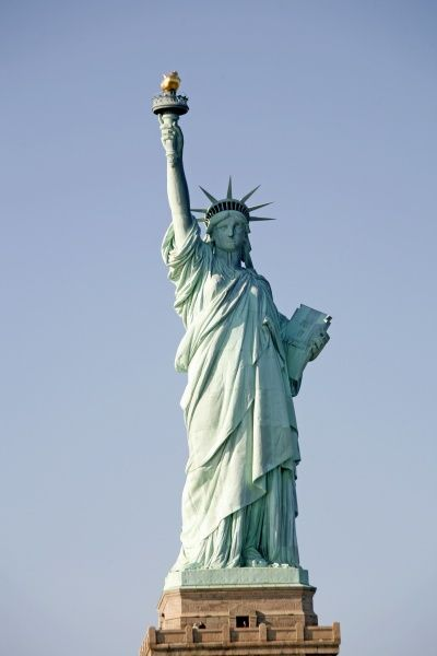 The Statue of Liberty in New York, United, States of America. circa 2008