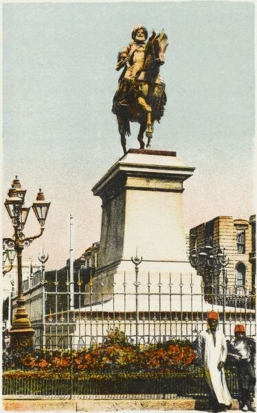 "Statue of Muhammad Ali, Cairo, Egypt. Muhammad Ali Pasha (1769 - 1849), is regarded as the ""founder of modern Egypt&quot"