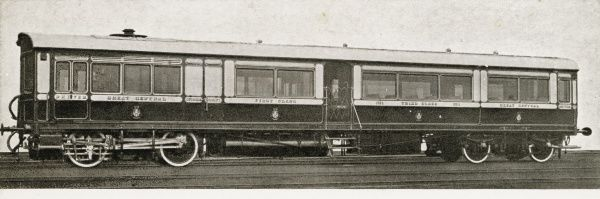 Steam rail motor coach no 1 Date