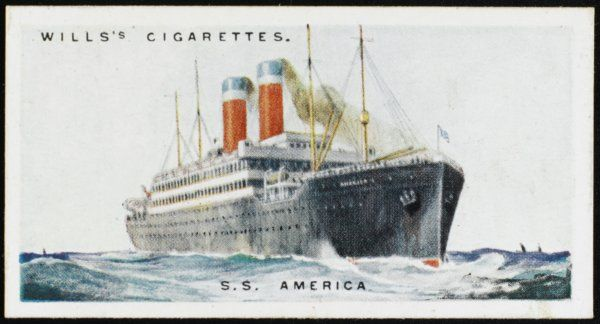 Atlantic liner of the United States Lines