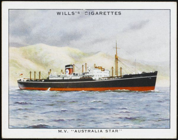 motor vessel of the Blue Star line