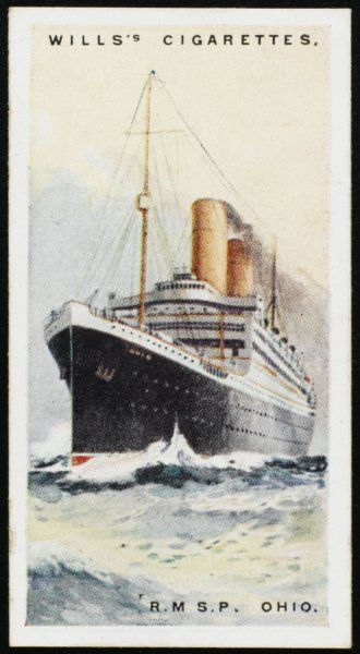 Royal Mail Steam Packet Company liner on the New York - Europe run