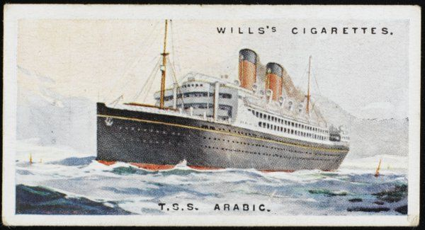 Atlantic liner of the United American Lines, named after an America's Cup winner