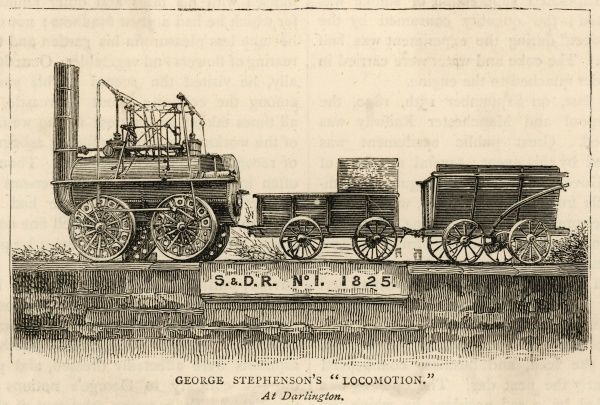 George Stephenson's 'Locomotion', at Darlington