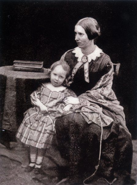 ROBERT LOUIS STEVENSON Scottish writer as a young boy, with his mother, Margaret Isabella