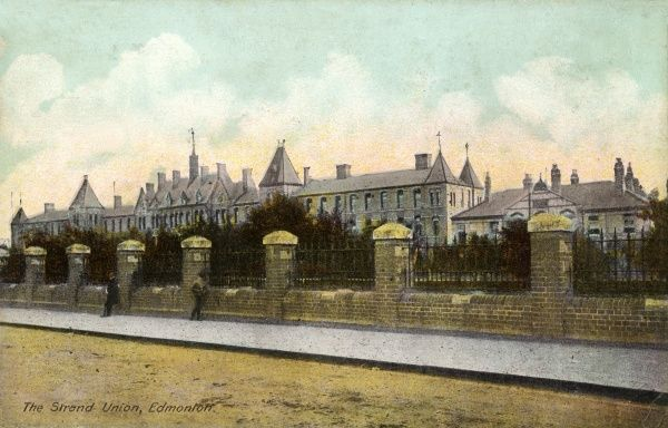 The Strand Union's workhouse at Edmonton, North London, opened in 1870. The Strand Union was located in Central London