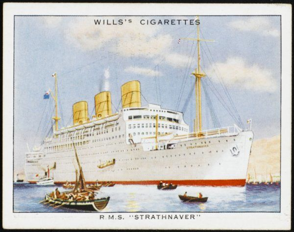 Passenger liner of the P&O line