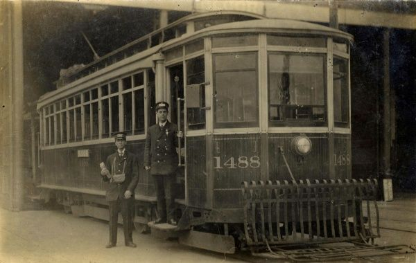Street car In Toronto, Canada in the 1900s