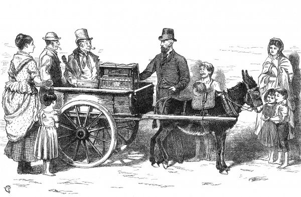 "The ""nobleman"" organ grinder: a claimant to a title whilst on tour through the Irish provinces"