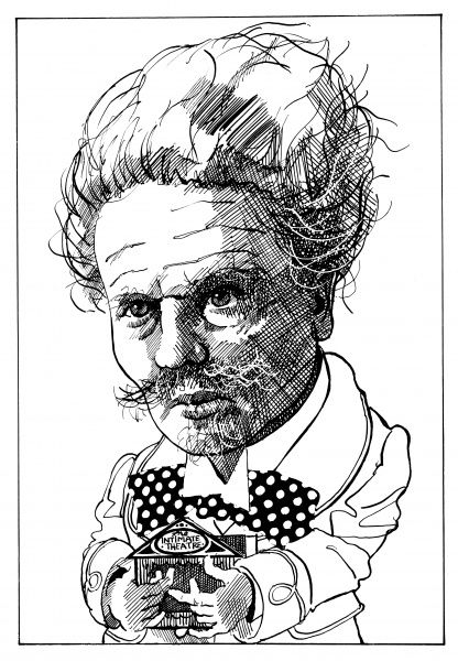 JOHAN AUGUST STRINDBERG Swedish playwright and novelist, best known for his play 'Miss Julie' (1888)