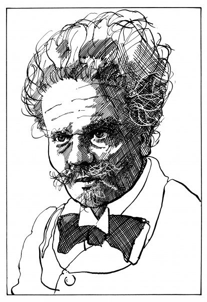 JOHAN AUGUST STRINDBERG Swedish playwright and novelist