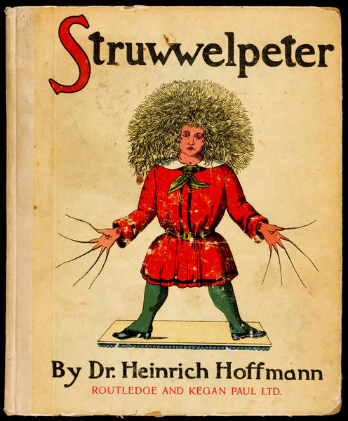 'Struwwelpeter' The cover of the book