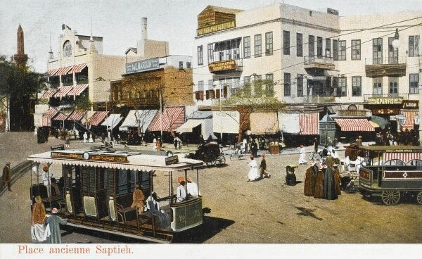 Suburb of Cairo, Egypt - The Saptieh Place