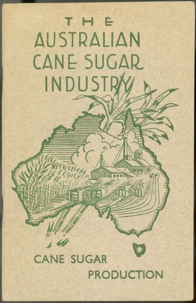 Brochure for the Australian Sugar Cane Industry 1936