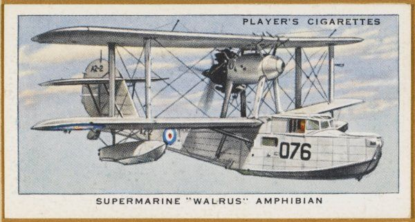 Extensively used by the Fleet Air Arm for reconnaissance and air/sea rescue work, this flying boat is a reliable and versatile machine despite its old-fashioned appearance