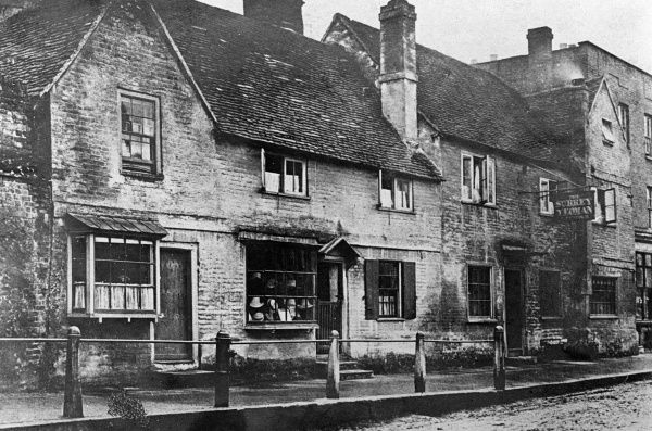 'The Surrey Yeoman' public house, Dorking, Surrey, England. Date: early 1900s
