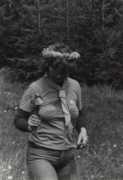 Swedish Beaver Scout Leader circa 1980s