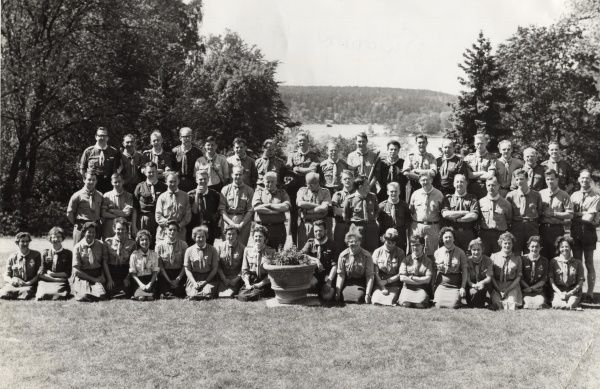 Swedish Scout Training Team Meeting. 1962