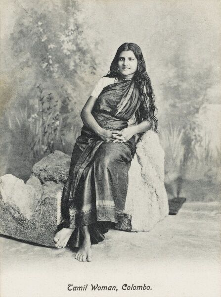 A Tamil Woman from Colombo, Sri Lanka