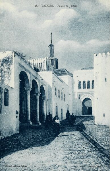Tangiers, Morocco - The Palace of Justice