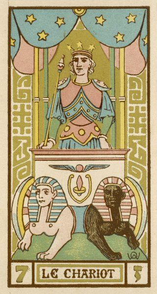 Tarot Card 7 - Le Chariot (The Chariot)