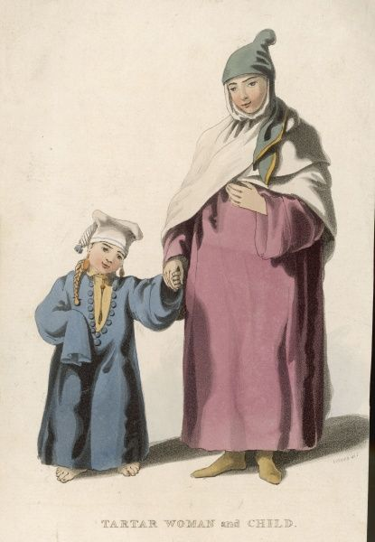Tartar mother and child