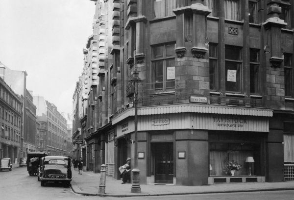 Tavistock Restaurants Ltd in Brewer Street, Soho, London.  1947
