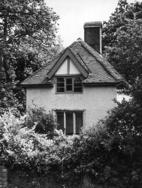 The house at Clouds Hill, near Wool, Dorset, England, where British archaeologist, soldier, intelligence officer and writer, Thomas Edward Lawrence (1888-1935), known as Lawrence of Arabia retired after leaving the R