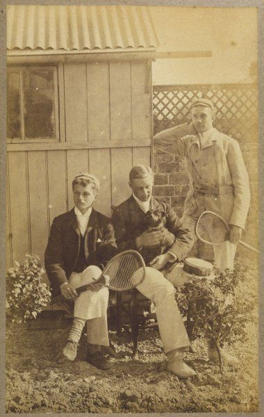 The Spedding brothers, and a friend