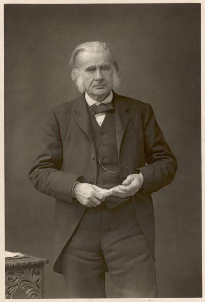 THOMAS HENRY HUXLEY English scientist and champion of Darwin's Theory of Evolution