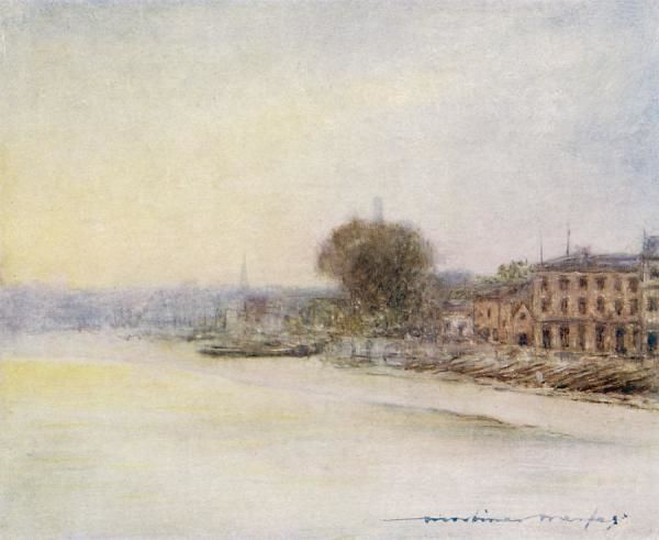 The Thames at Hammersmith
